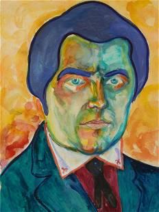 Kazimir Malevich Attr Self Portrait