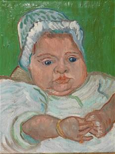 After Vincent van Gogh Portrait of Baby Marcelle