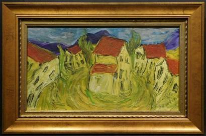 Chaim Soutine, Manner of: Village