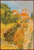 Vincent van Gogh, Manner of: Study of a Garden