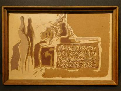 John Thompson Figures in the Valley of the Kings 1963