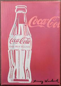 Andy Warhol, Attributed: Cocacola.