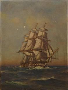C Myron Clark Clipper Ship