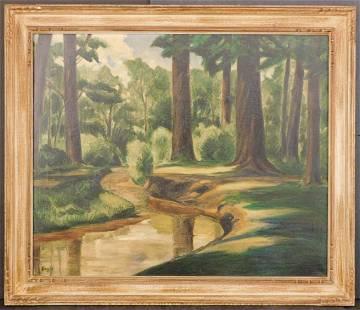 Robert Bauer Woodland Idyl