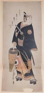 Okumura Masanobu The Black Knight