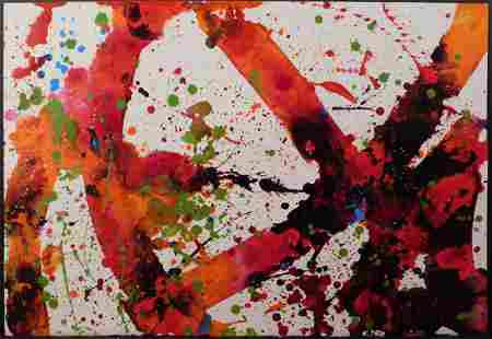 Sam Francis Attr Abstract Expressionist