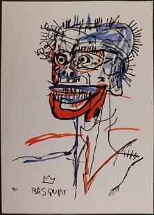 Jean-Michel Basquiat, Manner of: Cabeza