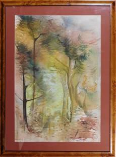 Virginia Powell: Autumn Forrest Landscape