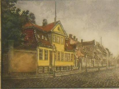 Beckmann: A Yellow German House