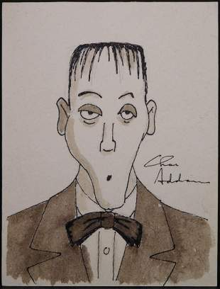 Charles Addams, Attributed: Lurch