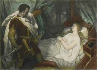 Edward Buchel: Othello and Desdemona