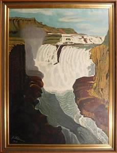 Thordur Stefansson: Modernist Icelandic  Waterfall
