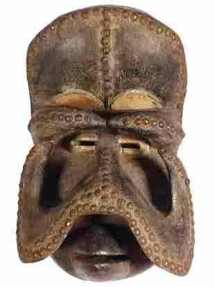 Gre Bush Spirit Mask: Guro/Bete People, Cote d'Ivoire