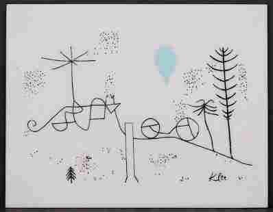 After Paul Klee: Swiss Winter