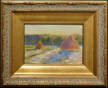 Claude Monet (1840-1926)(Attributed/ manner of): Study