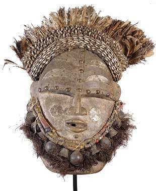 Elaborate Large Janus Mask, Dan People, Liberia