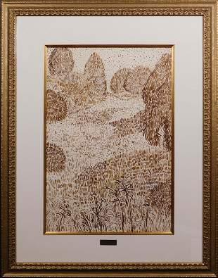 Vincent van Gogh, Attributed: Jardin Arles
