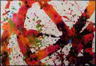 Sam Francis (Attr.) : Abstract Expressionist