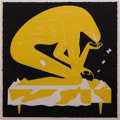 Cleon Peterson : The Nightmare (Yellow)