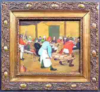 After Pieter Bruegel the Elder: The Peasant Wedding