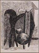 Pablo Picasso (Spanish, 1881-1973) Attributed: Les