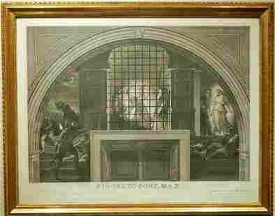 Joannes Volpato after Raphael: Deliverance of Saint
