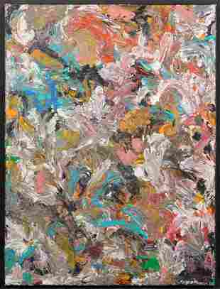 Abstract Expressionist Composition
