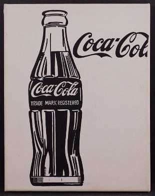 Andy Warhol, Manner of: Coca Cola Bottle