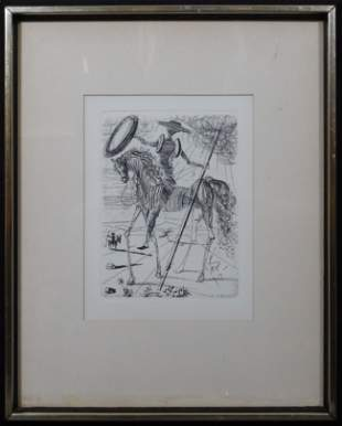 Salvador Dali (Spanish, 1904-1989) After: Don Quixote