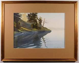 Stephanie Swanton Stark: Lake Scene