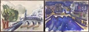 Helen Vaisnoris: Watercolor Sketches of Paris