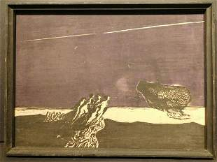 John Thompson: Woodcut Landscape