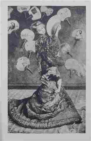 After Claude Monet (French, 1840-1926): La Japonaise