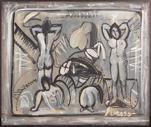 Pablo Picasso (Spanish, 1881-1973)Manner of/