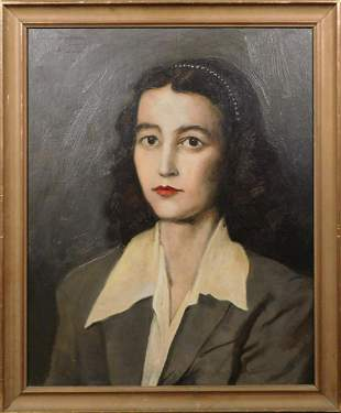 John H. Harmstone: Portrait of a Woman