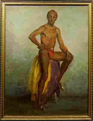 Robert K. LeRose: Portrait of a Male Dancer