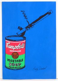 Andy Warhol, Manner of: Campbell Can with Can Opener