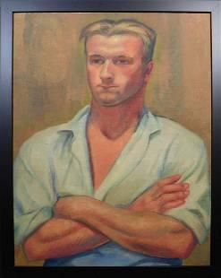 Margaretta Mason Kingsburg: Portrait of Quinto Ernesto