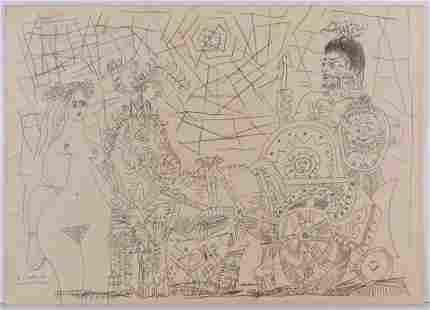 Pablo Picasso, Attributed: Le Cirque