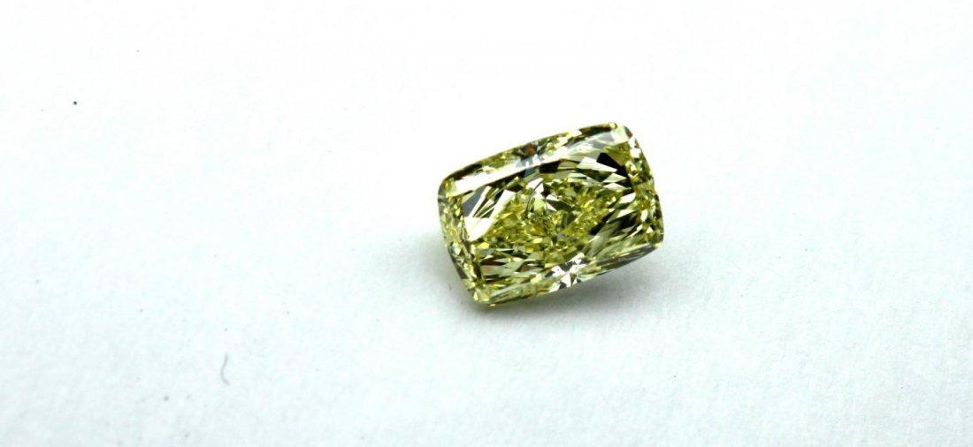 Fancy yellow internally flawless diamond