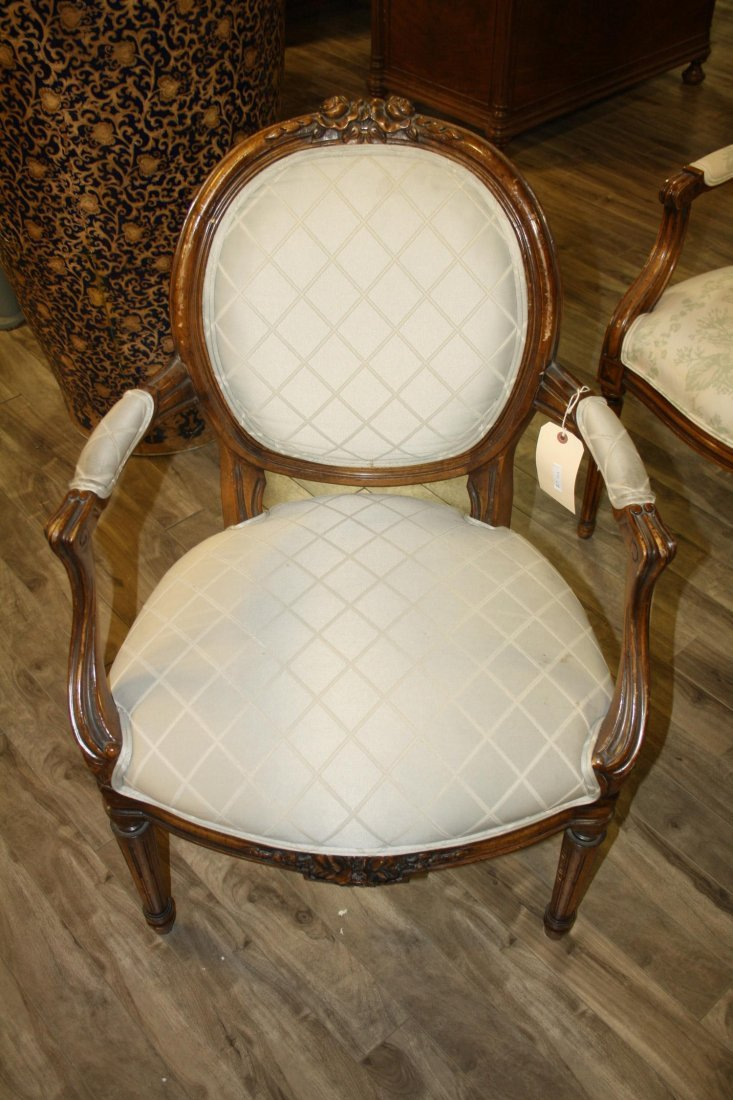 Three Carved French Chairs