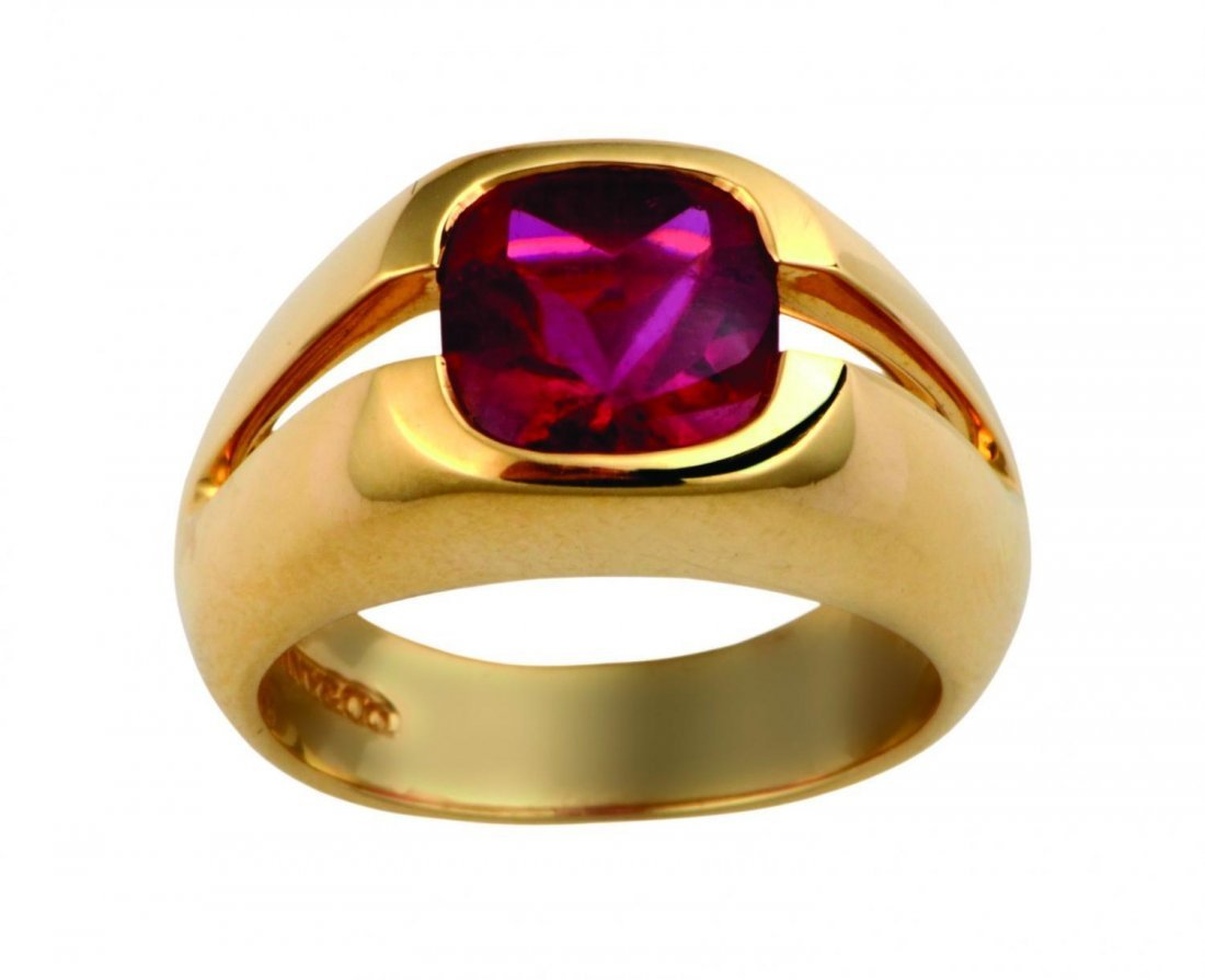 A Tourmaline ring by Tiffany & Co.