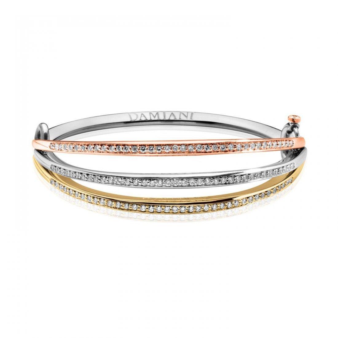 A gold bracelet by Damiani
