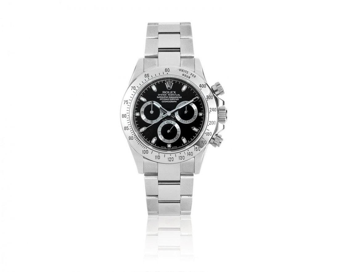 "ROLEX, A MEN'S ""COSMOGRAPH"" DAYTONA STAINLES"