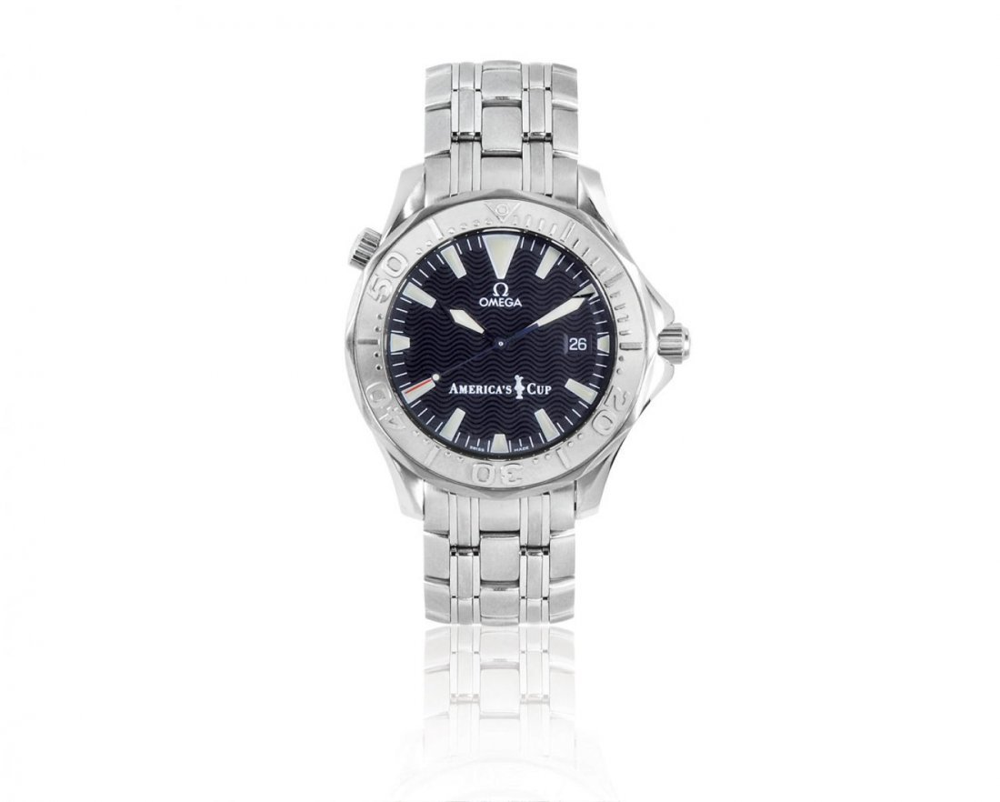 OMEGA, MEN'S SEAMASTER AMERICA'S CUP STAINLESS STEEL C