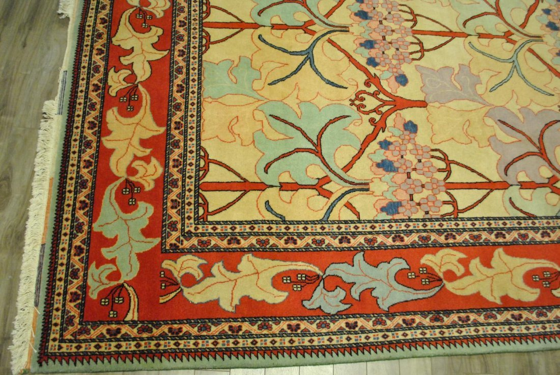 A LARGE HAND-KNOTTED PERSIAN TABRIZ,