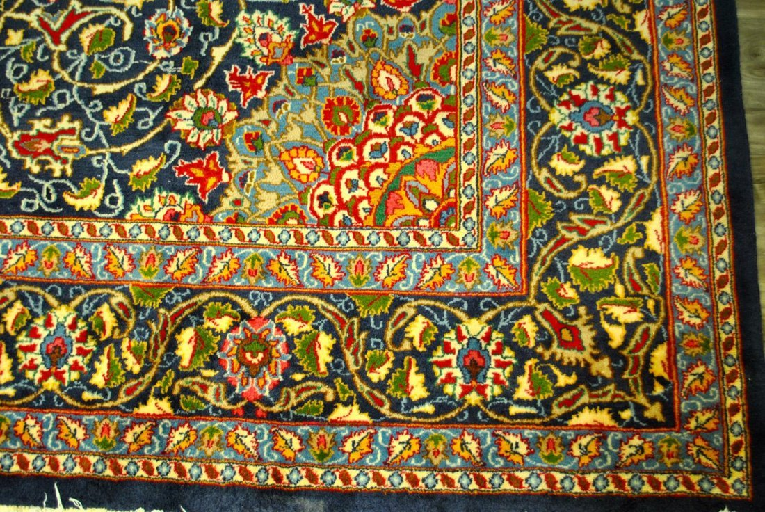AN INCREDIBLE HAND-KNOTTED PERSIAN MASHAD,