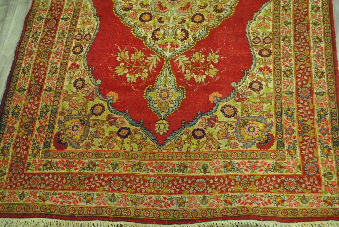 A HAND-KNOTTED PERSIAN TABRIZ,