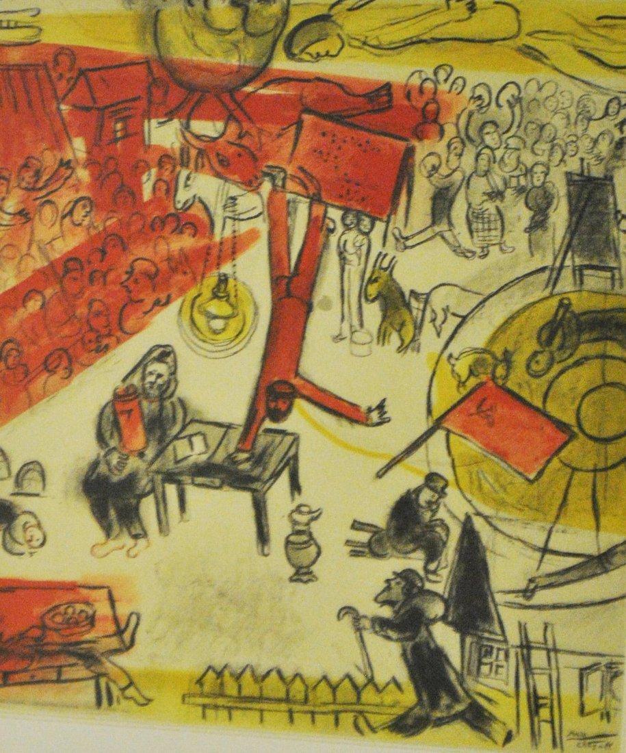 "After Chagall, ""La Revolution"""