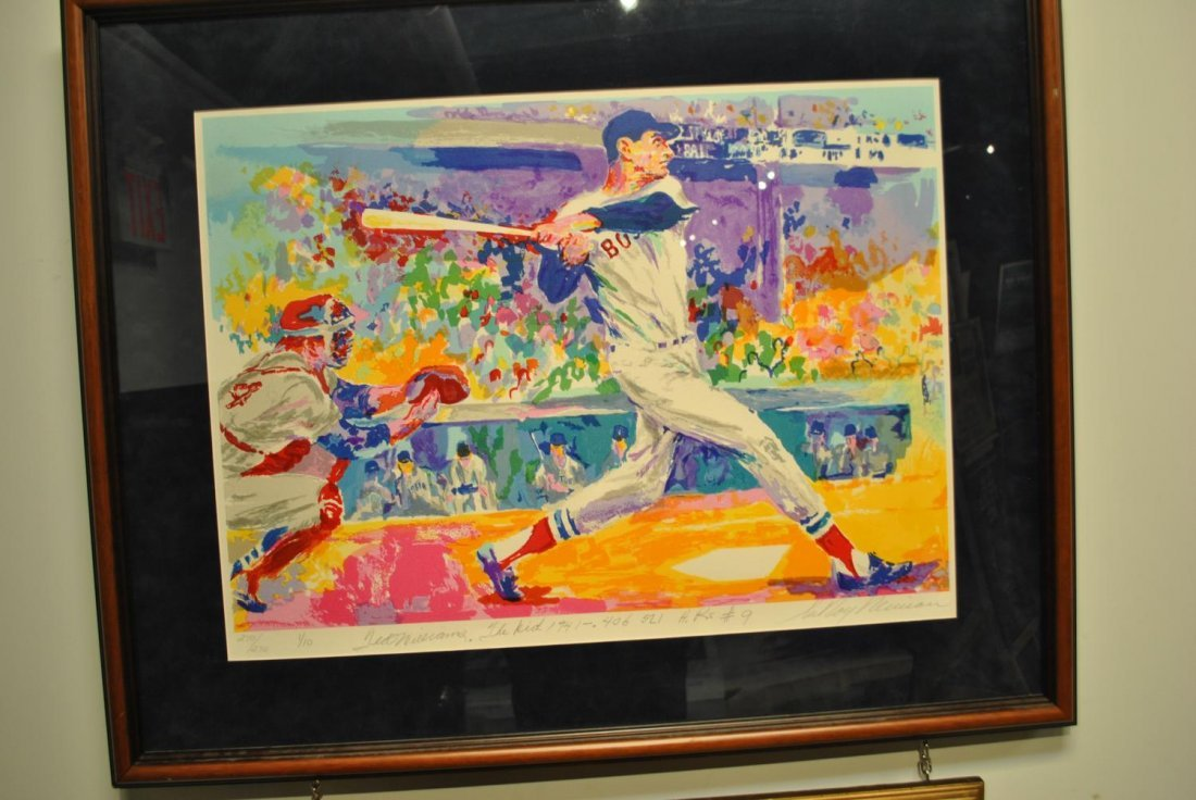 Ted Williams Serigraph